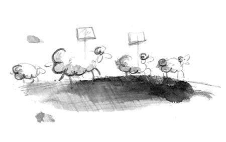 Mäh ihr Schafe