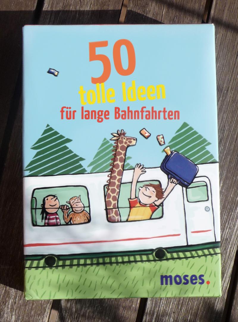 50 tolle Ideen für lange Bahnfahrten!