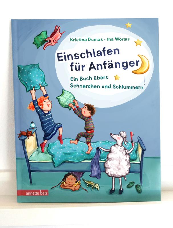 Einschlafen für Anfänger, Kristina Dumas, Annette Betz Verlag