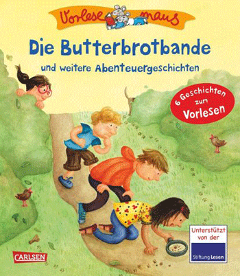 Butterbrotbande, Margit Auger, Carlsen Verlag