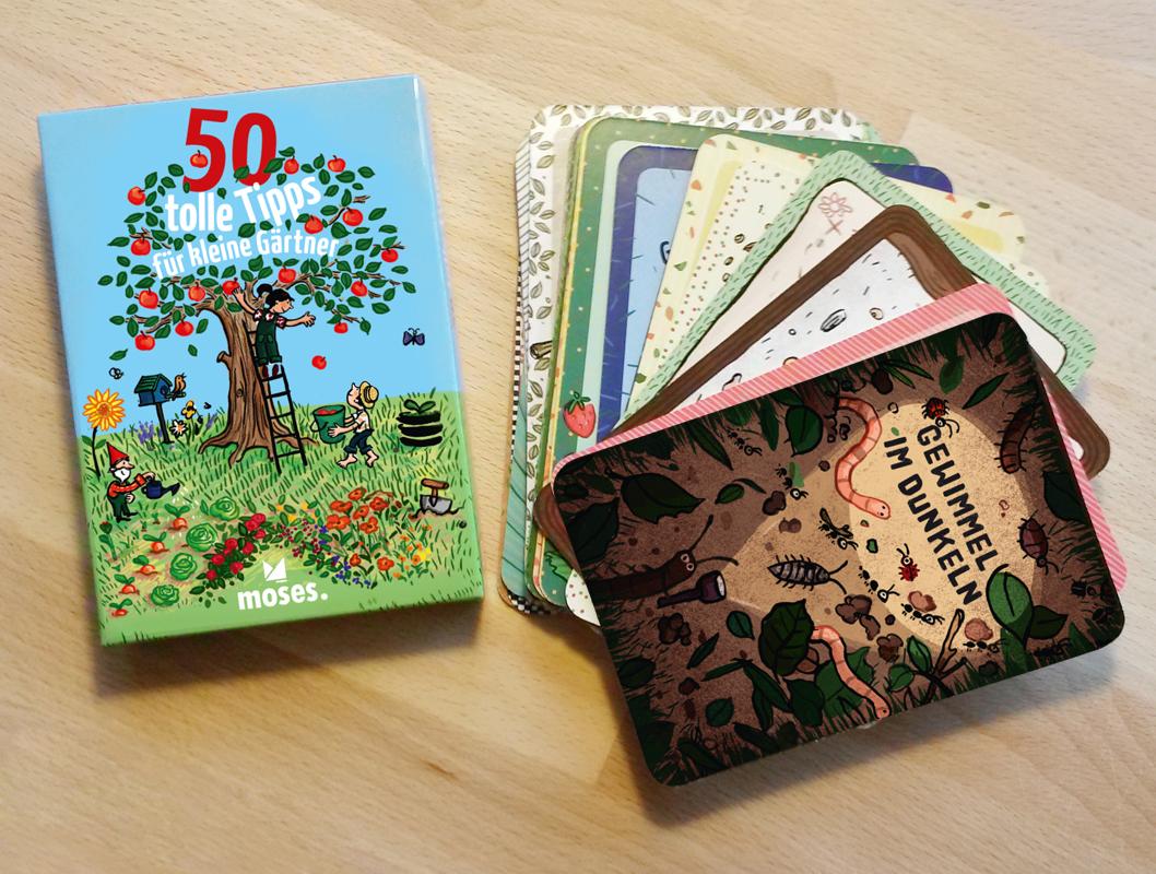50 tolle Tipps für kleine Gärtner, Moses Verlag