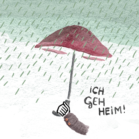 Es Regnet ununterbrochen!
