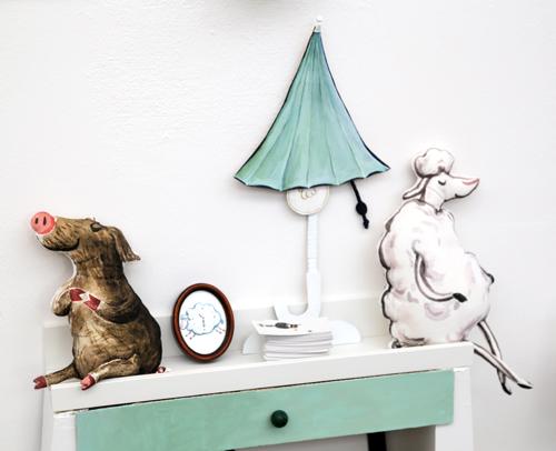 Schweinehund und Einschlaf-Schaf, Illu18, Illustratoren Festival, Köln, Illustration, Kinderbuch, Michael Hornbachstiftung, Ina Worms, Aufräumen für Anfänger, Annette Betz