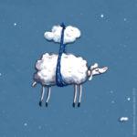 Einschlafen für Anfänger, Schaf, fliegen, träumen, schweben,
